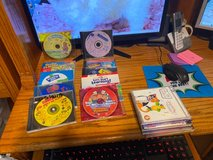 bunch of computer disks for the little one in Kingwood, Texas