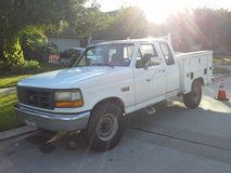 1996 F250. XCAB, 7.2L UTILITY BED, VINTAGE in Kingwood, Texas
