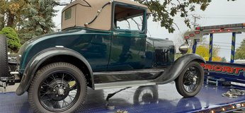 1928 Ford Model A in St. Charles, Illinois