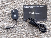 Bluetooth Audio Receiver - Aluratek AIS11F – Pre-owned in Plainfield, Illinois