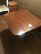 Folding table in Plainfield, Illinois