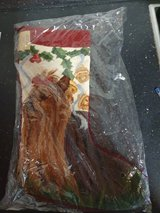 Union trading  Co Needlepoint Christmas Yorkshire Stocking in Ramstein, Germany