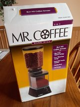 Mr. Coffee Automatic Burr Mill Coffee Grinder   Used couple times in Plainfield, Illinois