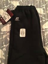 Boys new sweatpants with tags large in Plainfield, Illinois