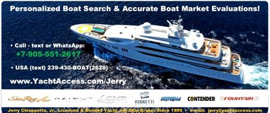 Personalized Boat Search & Free No-Obligation Boat Market Evaluations in MacDill AFB, FL