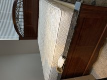 Bed frame and mattress in St. Charles, Illinois