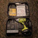 ROCKWELL Lithiumtech 18-Volt 1/4-in Cordless Variable Speed Impact Driver in Joliet, Illinois