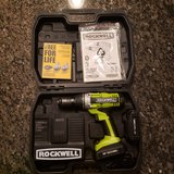 Rockwell RK2810K2 18-Volt Lithiumtech Lithium-Ion Cordless Drill Driver in Chicago, Illinois