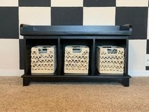 cubby storage bench in Tomball, Texas