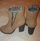 JustFab Brown Boots - Size 9 in Beaufort, South Carolina