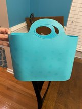 Teal Plastic Tote Bag in Naperville, Illinois