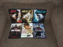 Mission: Impossible DVDs, all 6-films for $20 in Alamogordo, New Mexico