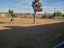 Yard drags in Yucca Valley, California