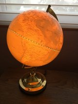 Illuminated world globe 3 way light in Chicago, Illinois