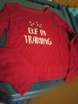 Cute size 5 holiday tee for girls in St. Charles, Illinois