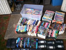 150 vhs movies - 50 disney & 100 others plus rewinder in Fort Knox, Kentucky