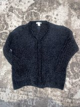 Women's size M black soft sweater in new condition in Naperville, Illinois