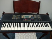 Yamaha PSR-225 Keyboard with Stand and Bench in Batavia, Illinois