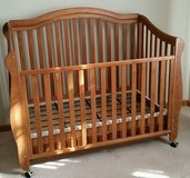 Crib, Toddler bed, Full size bed in Batavia, Illinois