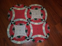 Quilted Christmas runner in Spring, Texas