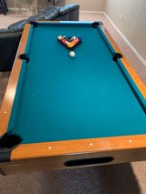 pool table in St. Charles, Illinois