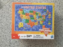 Puzzle - map of the USA in Stuttgart, GE