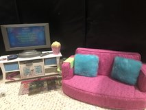 American Girl Tv/couch living room set in Batavia, Illinois