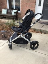 Britax double stroller base w/ toddler seat in Batavia, Illinois