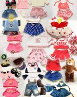 Build a Bear Bunny and 16 Outfits in Fort Leonard Wood, Missouri