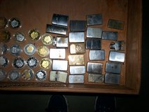 21 zippo lighters & 3 off brand & 18 trump coins in Fort Knox, Kentucky