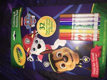 Coloring activity pad paw patrol in Ramstein, Germany