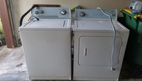 Electric Washer & Dryer in Baytown, Texas
