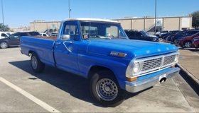1970 Ford F100 Pickup Truck in Baytown, Texas