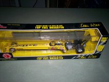 Eddie Hill 1997 premier edition 1/24 scale die cast top fuel dragster in Fort Knox, Kentucky