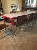 Children's table and 8 chairs in Batavia, Illinois
