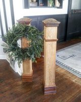 Antique newel post PAIR in Batavia, Illinois