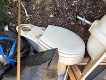 Remodeling:  free toilet, double sink countertop, part of cabinet in Batavia, Illinois