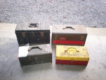 four toolboxs in Fort Knox, Kentucky