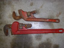 "two monkey wrenches 18"" & 14"" both made in usa in Fort Knox, Kentucky"