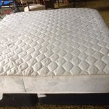 king size bed and rail @ box spring in Leesville, Louisiana