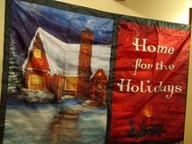 CHRISTMAS OUTDOOR DECORATION  ~ LARGE GREETING CARD in Naperville, Illinois