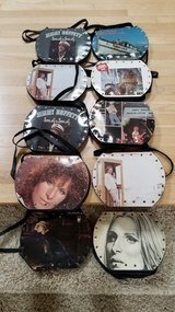 Record album purses in St. Charles, Illinois