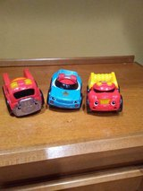 3 cute fisher price rescue vehicles in St. Charles, Illinois