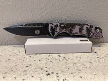 Camo Knife with Window Breaker and Seatbelt Cutter in Cleveland, Texas