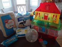 Hamster cage and extras in St. Charles, Illinois
