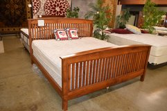 King Mission Oak BedFrame in Fort Lewis, Washington