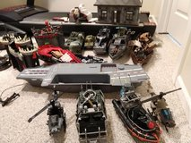 Army vehicles, boats, helicopters, castles and forts in Joliet, Illinois