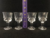 Set/4 Cordial Glasses in Plainfield, Illinois