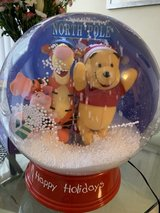 Winnie the Pooh and Friends Snow Globe in Chicago, Illinois