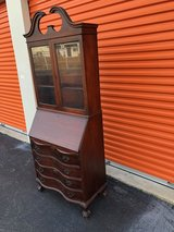 Antique Gov. Winthrope  Mahogany Secretary in Cherry Point, North Carolina